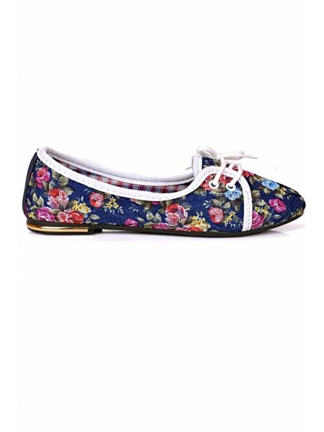 Pantofi albastri Olga
