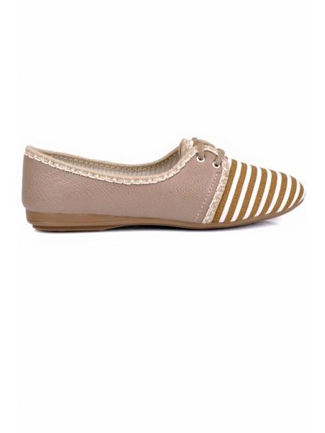 Pantofi Katya bej