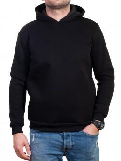 Hanorac negru pentru bărbați
