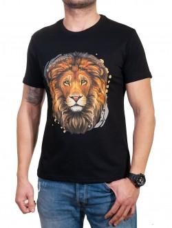Tricou bărbătesc cu leu