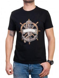 Tricou marinar negru