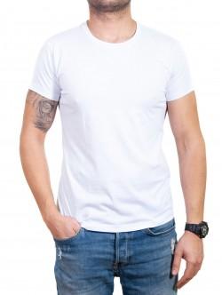 Tricou bărbătesc alb