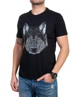 Tricou pentru bărbați cu lup
