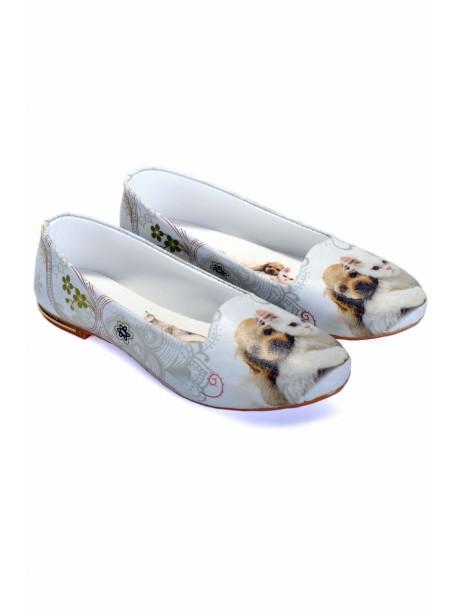 Pantofi cu pisica si catel
