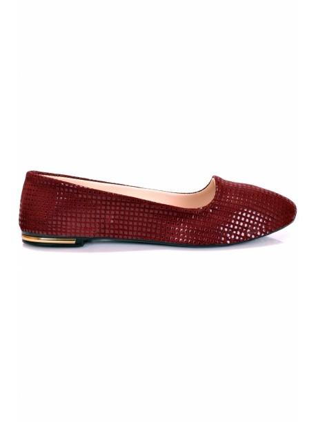 Pantofi Nuri bordo