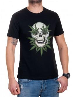 Tricou bărbătesc cu marijuana