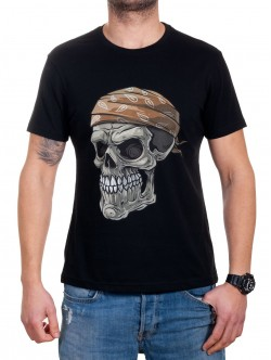 Tricou pentru bărbați cu craniu