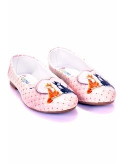 Pantofi de dama cu doua pisici
