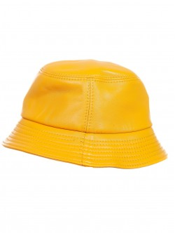 Caciula bărbătească în galben