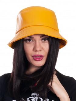 Pălărie pentru femei cu periferie - galbene