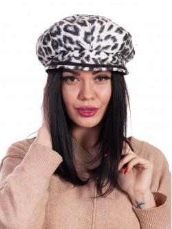 Basca de leopard pentru femei