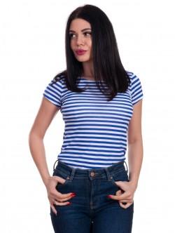 Tricou de damă cu model marinar