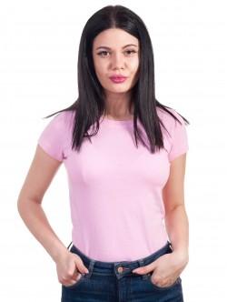 Tricou de femei montat în roz pal