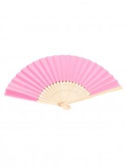 Evantai de lemn în roz