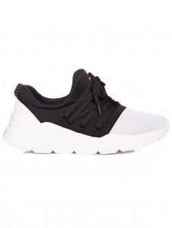 Pantofi sport bărbați - alb-negru