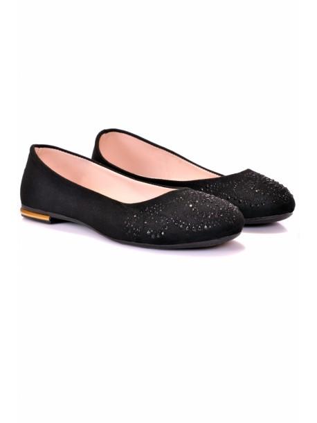 Pantofi Dea negri