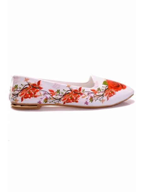 Pantofi trandafir rosu