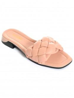 Papuci de damă roz - scăzut