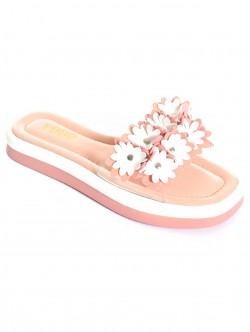 Papuci de vară cu flori