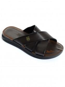 Papuci maro pentru bărbați