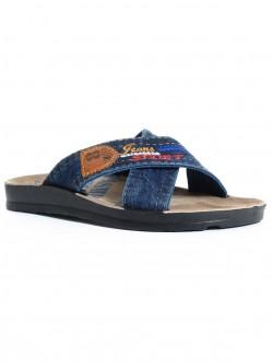 Papuci pentru femei din denim