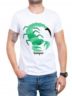 Tricou bărbătesc în două culori Scorpion