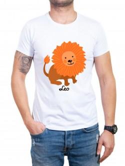 Tricou bărbătesc în două culori Leu