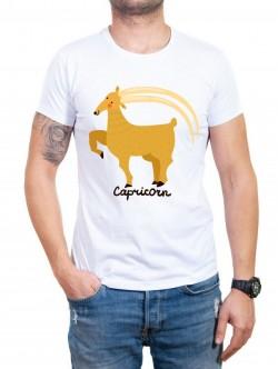 Tricou bărbătesc în două culori Capricorn