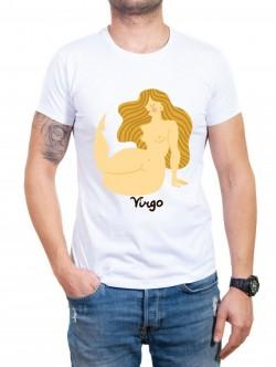 Tricou bărbătesc în două culori Fecioară