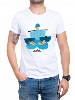 Tricou bărbătesc în două culori Balanță