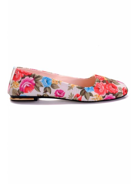 Pantofi Maya crem