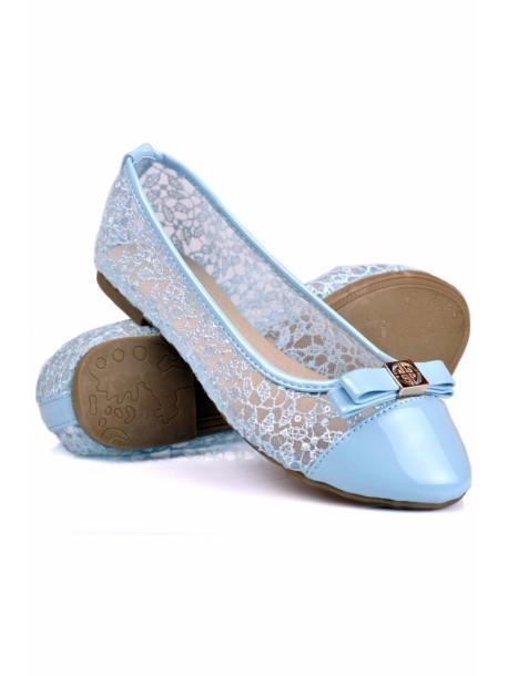 Pantofi Amor albastri