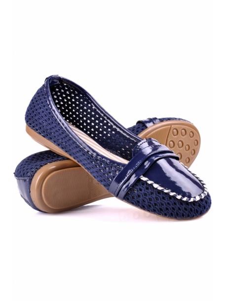 Pantofi Lasy albastru
