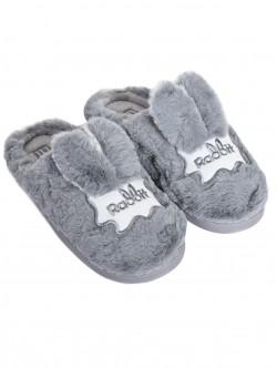 Papuci - iepuri în gri