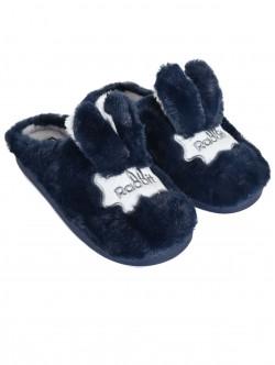 Papuci - iepuri în albastru