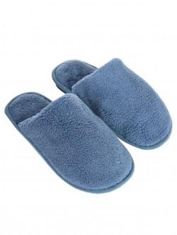 Papuci bărbați de culoare albastru deschis