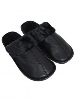 Papuci barbati din puf