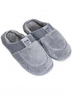 Papuci bărbați pentru casă în gri