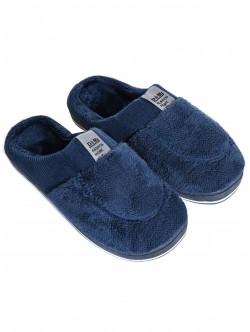 Papuci bărbați pentru casă în albastru
