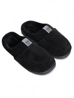 Papuci bărbați pentru casă în negru