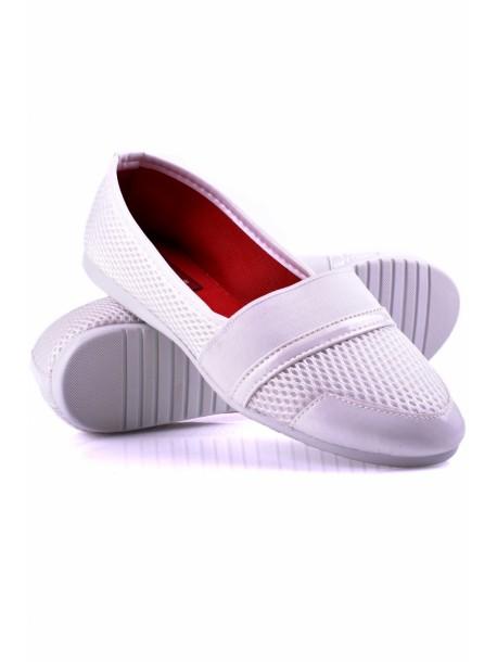 Pantofi albi Hera