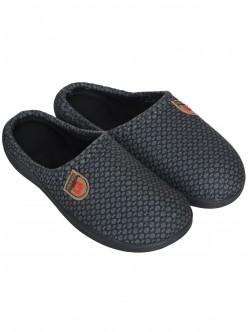 Papuci bărbați - gri și negru