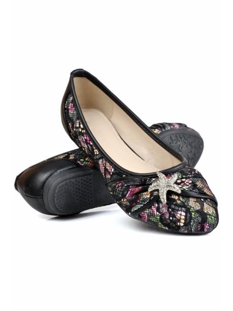 Pantofi Stele negri