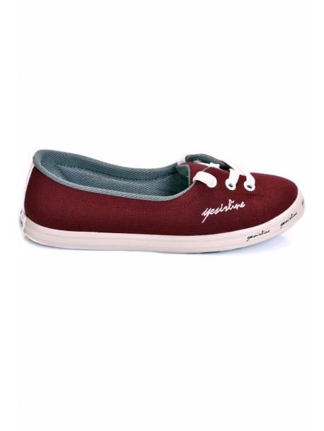 Pantofi Fany bordo