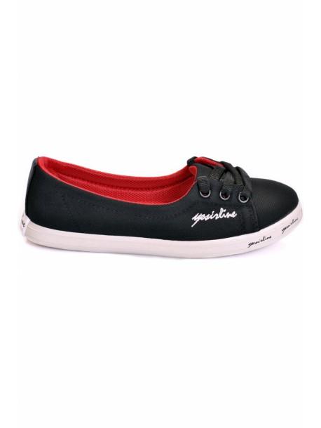 Pantofi Fany negri